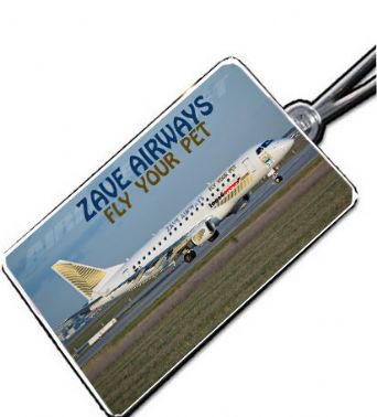 ZAVE AIRWAYS Crew Tag